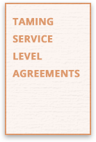 Taming Service Level Agreements Guide