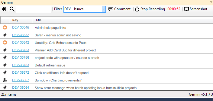 Visual Studio connectors